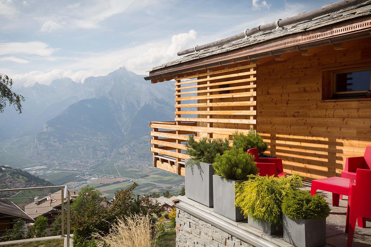 Nos r alisations de maisons ma maison bois for Construction maison chalet