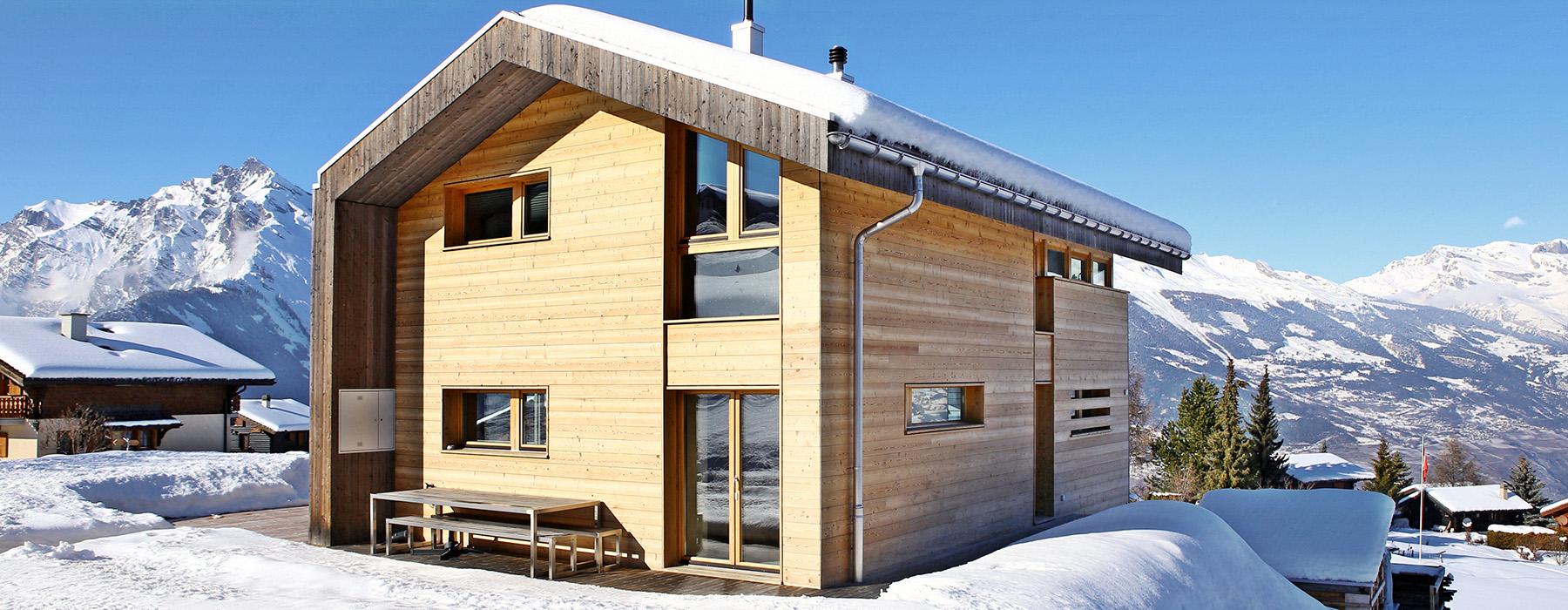 Ma maison en bois ma maison bois ralisation n21 for Construire ma maison